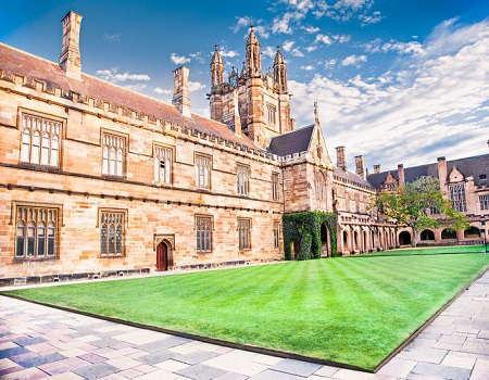 Quadrant Building at University of Sydney, Australia.